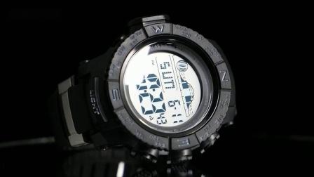 男士手錶防水时尚潮2019新款夜光倒计时秒錶学生青少年运动电子錶
