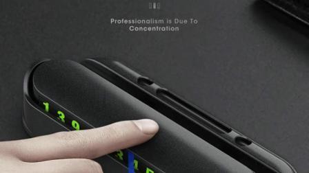 新款创意汽车临时停车卡挪车电话号码牌带手机架摆件车载车