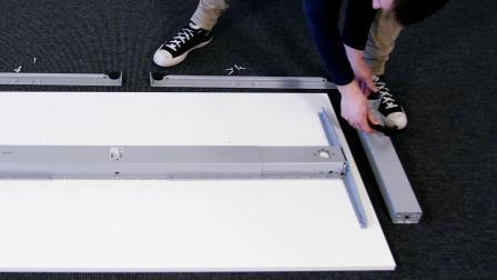 力纳克办公系列——如何拆卸桌架方案2