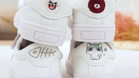 女童小白鞋2019小学生帆布鞋白色儿童鞋子女孩板鞋百搭童鞋舞蹈鞋