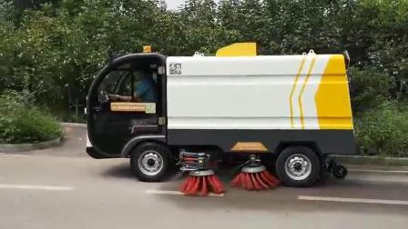 【清扫车】电动环卫扫地车 大型道路清扫车