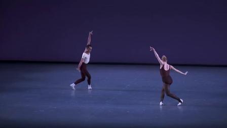 NYCB 巴兰钦作品 Stravinsky Violin Concerto 片段 Sara Mearns, Taylor Stanley 