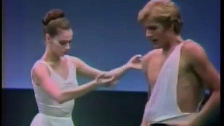 NYCB 阿波罗 双人舞 片段 Suzanne Farrell & Peter Martins 