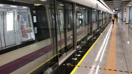 深圳地铁5号线(环中线)南延段514车赤湾方向桂湾站进、出站