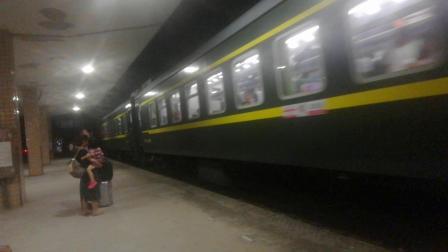 K9008次 进溆浦站 2019年8月12日