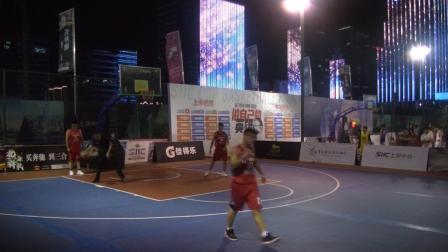 2019青岛金家岭上实中心杯篮球赛 E组 金融区联队 VS 青岛农商银行 1