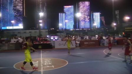 2019青岛金家岭上实中心杯篮球赛 E组 金融区联队 VS 青岛农商银行 4