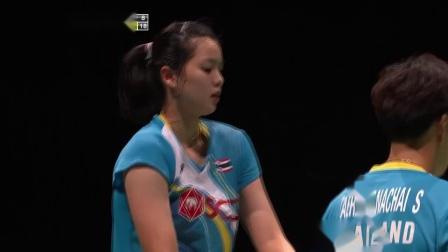 2019羽毛球世锦赛 女双首轮普缇塔沙西丽集锦