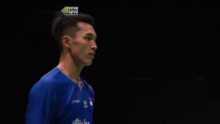 2019羽毛球世锦赛 乔纳坦·克里斯蒂VS欧塞夫 集锦