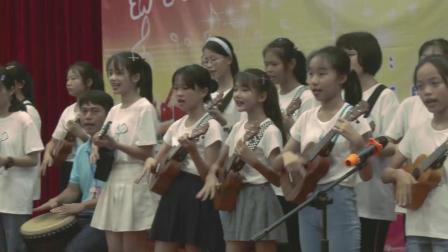 澄迈县青少年活动中心暑假免费艺术培训文艺展演