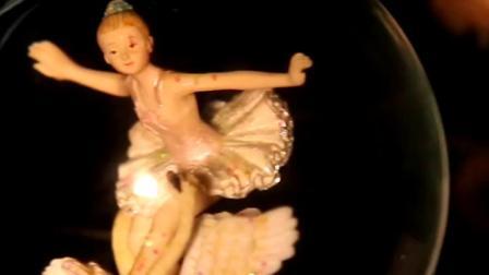 君晓天云生日礼物女孩芭蕾跳舞水晶球音乐盒八音盒送女生儿童创意生日礼物