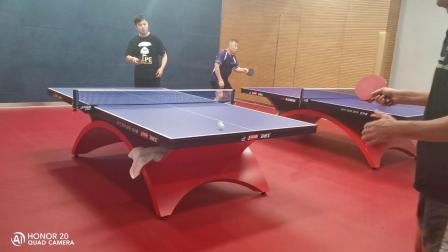 中德球友乒乓球交流赛!刺激!优秀~