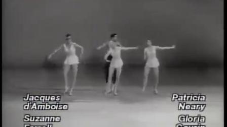 NYCB 阿波罗 片段 Jacques d'Amboise, Suzanne Farrell, Patricia Neary, Gloria Govrin