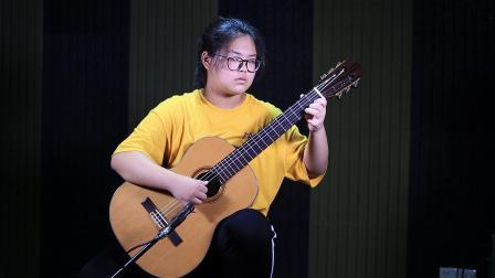 古典吉他独奏《天空之城》by 谢锜埼