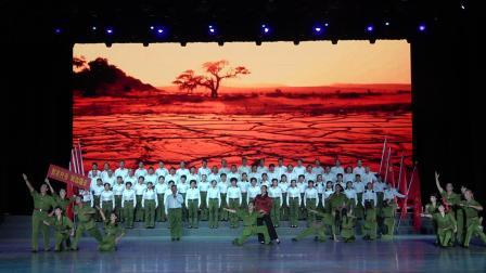 军垦1971选段《到农村去 到边疆去》表演:中知网柳州联络站军垦战友歌舞团