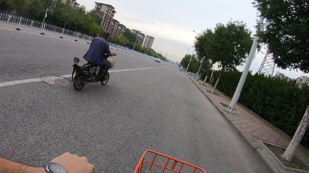 天津空港骑行,gopro7新手试玩摩拜单车9公里体验