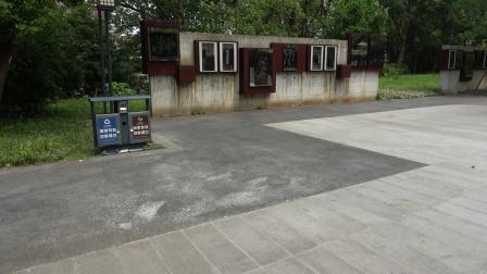 上海淞沪抗战纪念公园~抗战文化艺术墙
