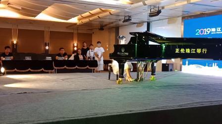 孟州市爱乐钢琴周毅珠江恺撒堡国际青少年钢琴大赛复赛