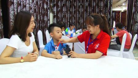 中国脑力王大赛选手及家长信心满满,从容应赛