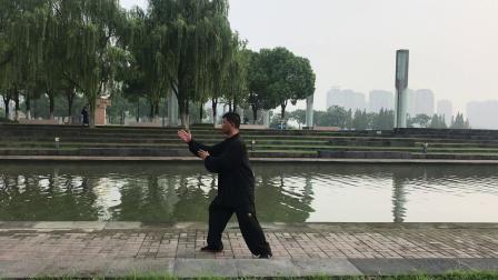 85杨式太极拳第一段