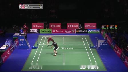 2019羽毛球世锦赛 安东森VS刘国伦集锦