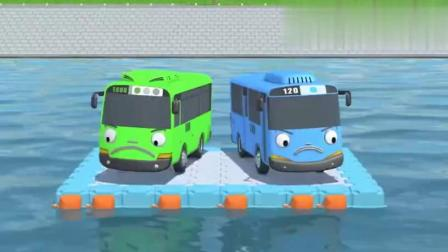 小公交车太友:邦邦跟凯莉去巴士做检查,忘记给太友寻找救援。