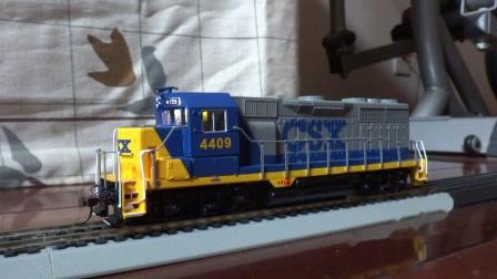 电动仿真火车模型(二十一)GP-35带数码音效