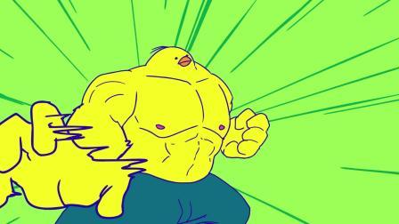 超强动作动画《一只鸡肉卷引发的血战》