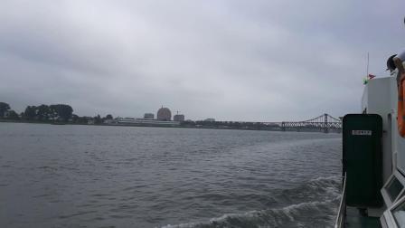 中朝边界鸭绿江
