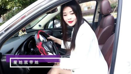 君晓天云雷丁D50 D70御捷Q5 330电动四轮车汽车方向盘套女生专用卡通把套