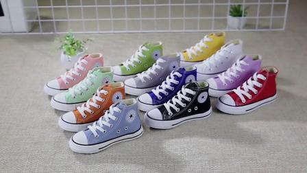 君晓天云童鞋白色儿童帆布鞋男女童鞋高筒演出鞋白鞋 舞蹈鞋学生布鞋