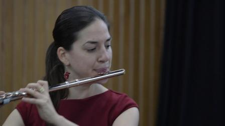 安德烈•若利韋 : 為長笛與鋼琴所作的里諾斯之歌