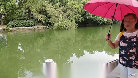 手机拍摄小洋傘游滁州琅琊山风景区(深秀湖