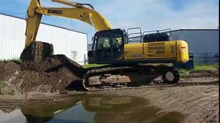 2015年神钢KOBELCO SK500LC-9挖掘机