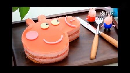 君晓天云小猪慕斯圈模具卡通可爱创意猪猪304不鏽钢猪型68寸烘焙蛋糕佩奇