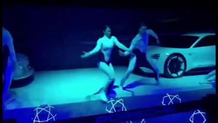 北京无人机舞蹈表演