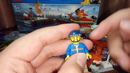 [夏目]丹麦乐高初体验  LEGO 城市组 新消防局系列 60213 失火码头救援