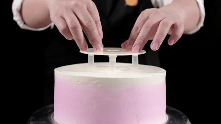 君晓天云蛋糕打桩垫片支撑架68寸双层多层蛋糕底部支撑架工具5套装含吸管