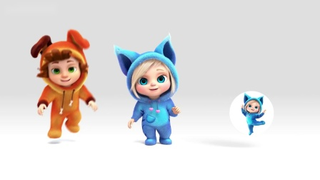 【原版儿童英语歌曲】 🌈 这头小猪(颜色歌) This Little Piggy - Color Song 🌈 💢生动3D动画💢唱歌学英语