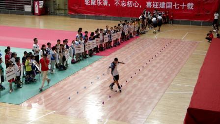 2019年中国自由式轮滑系列赛(乐清站)开幕式自由式轮滑表演