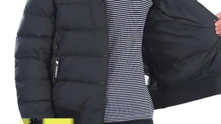 君晓天云Nike耐克外套男2019夏季新款运动服立领防风短款保暖羽绒服928820