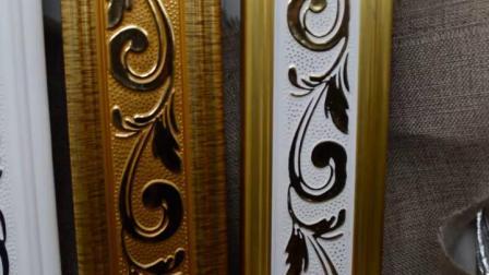 君晓天云7009欧式PS装饰线条 平线壁纸压边线条 顶角边框画框门框线厂家