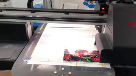 君晓天云6090大型UV印表机彩印工业级印刷机器3d墙体彩绘喷绘机墙面印花机