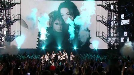 珍妮杰克逊领衔群星致敬MJ