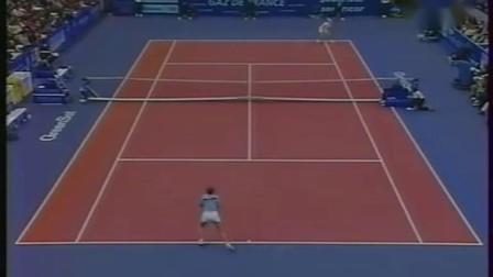 【自制HL】皮尔斯VS莫纳米 1998年巴黎室内赛决赛