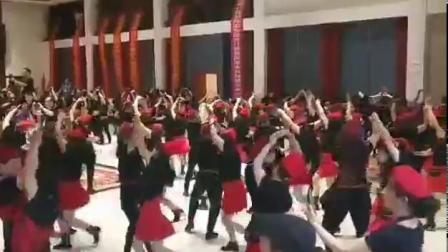 君晓天云广场舞衣服裙子马王爷水兵舞服装女2019新款套装夏季跳舞上衣短袖