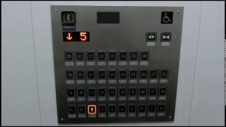 日本某公寓楼日立电梯