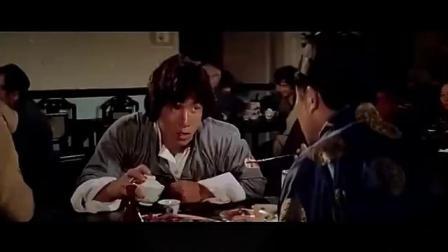 成龙吃饭戏,原来是一脉相承的,看七小福吃饭大比拼,你更服谁