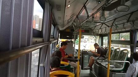 巴士五公司:98路公交车L9E-0009.共和新路呼兰路→大统路中山北路全程