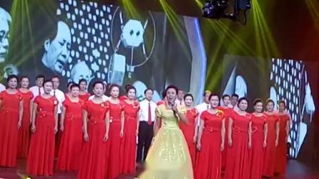 央视【最美中国,印象中华】大型文艺汇演。有黄骅宏声合唱团登上央视。